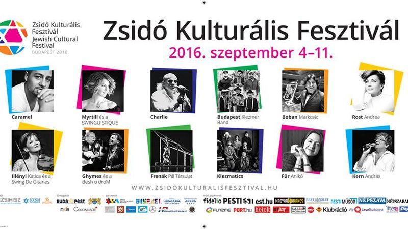 Elkezdődött a Zsidó Kulturális Fesztivál