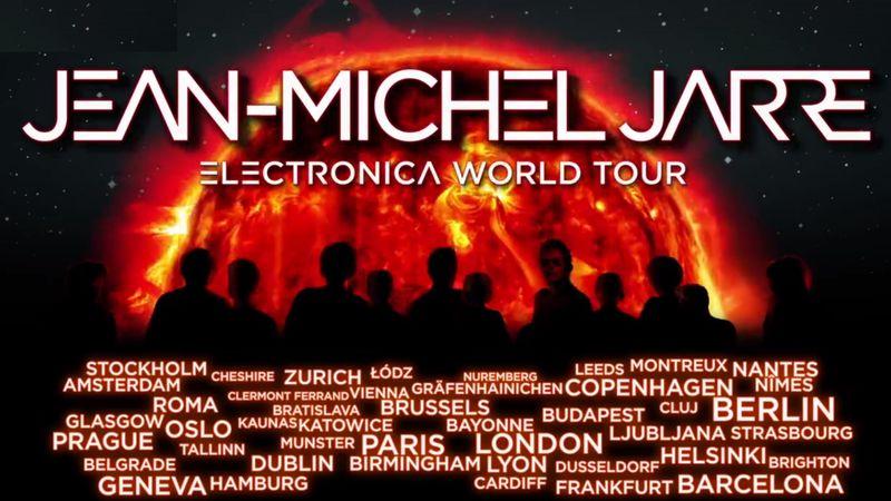 Jean-Michel Jarre világkörüli turnéján becsenget Budapestre