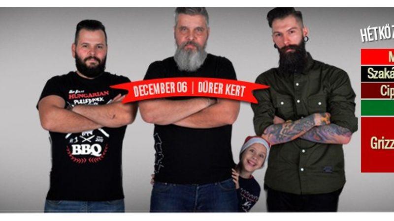 Hétköznapi Mikulások: szakáll-szépségverseny, bringás felvonulás, koncertek