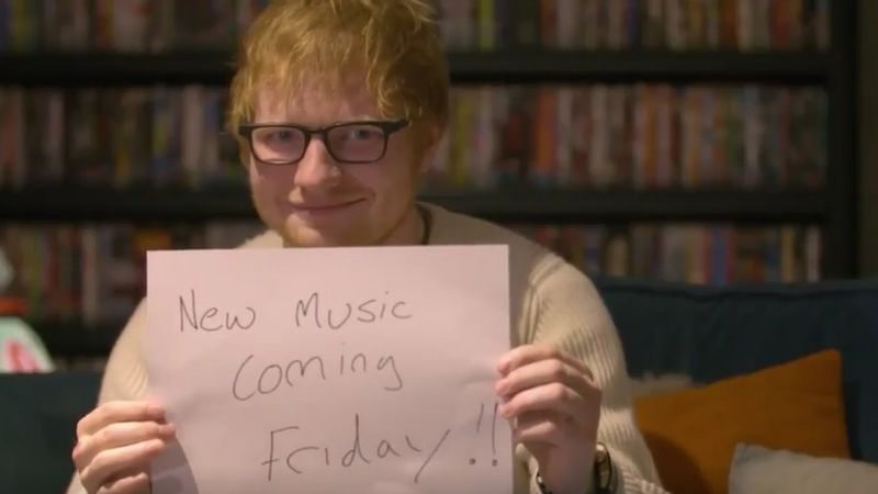 Ed Sheeran visszatér!