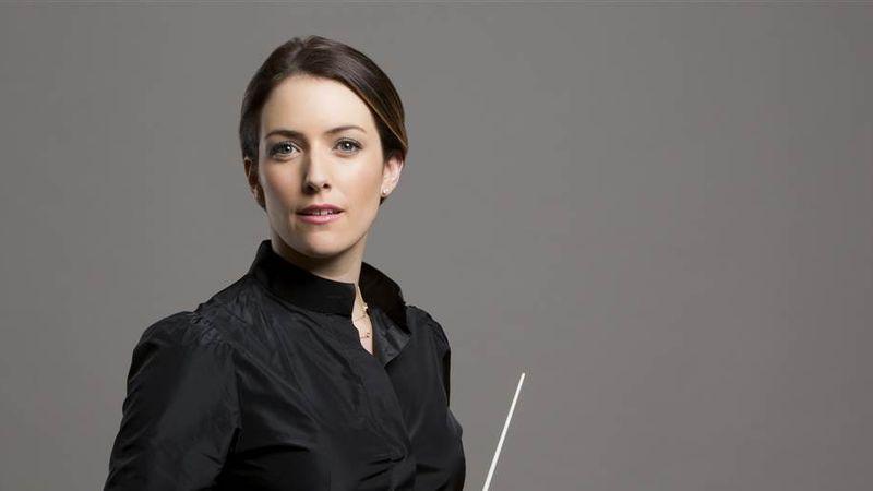 A világ egyik legismertebb női karmestere Budapesten