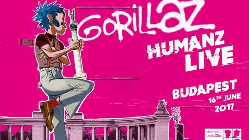 Ez egy másik Gorillaz-buli, erre csak nyerni lehet jegyet