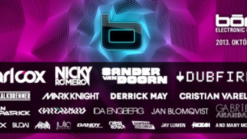 Ne várd a májust: ELECTRONIC MUSIC FESTIVAL 2013