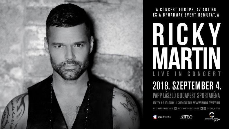 Ricky Martin koncert Kiemelt események