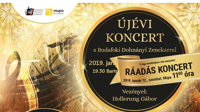 Újévi koncert - RÁADÁS Kiemelt események