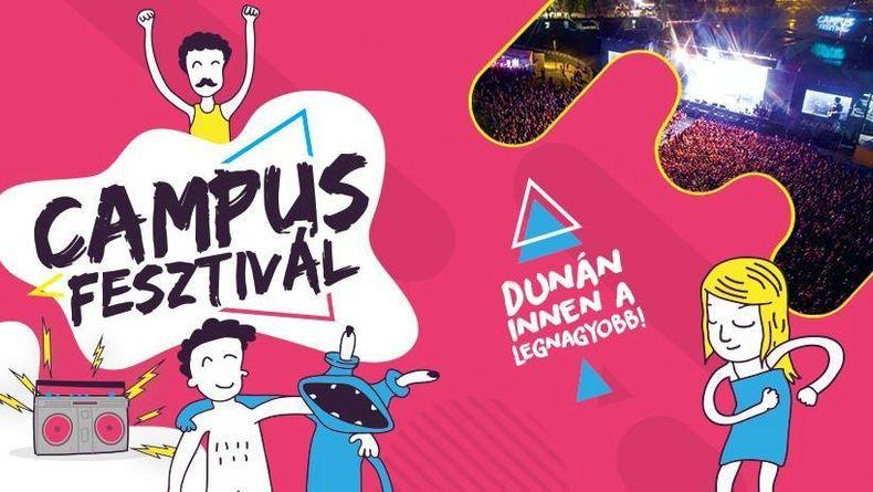 Campus Fesztivál 2019 - bérlet Kiemelt események