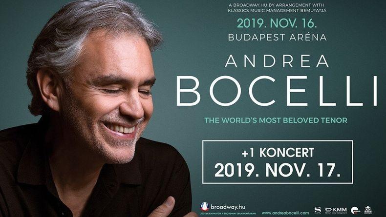 ANDREA BOCELLI - ráadás koncert Kiemelt események