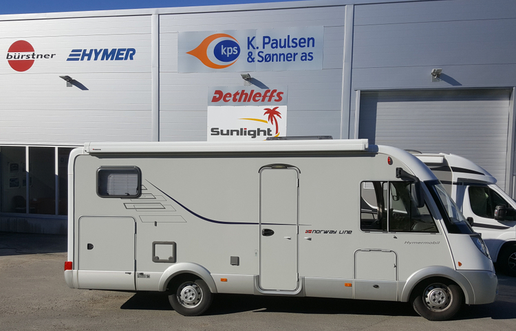 SOLGT! Hymer 614CL
