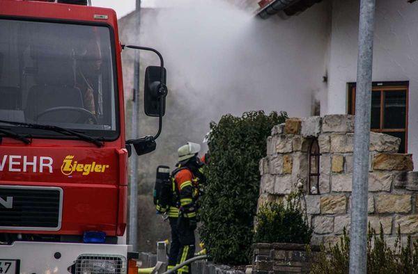 Brand in Gültstein: Feuer bricht im Kellerraum aus