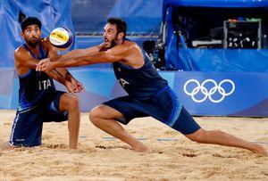 Italia fuori anche nel beach volley: Lupo-Nicolai battuti 2-0 da Cherif-Ahmed