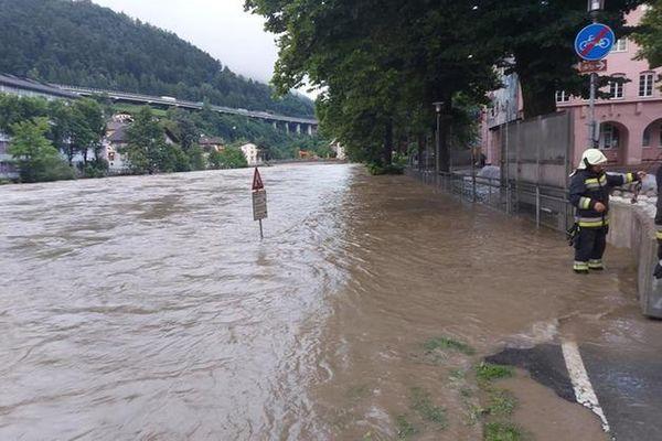 Situazione critica in Alto Adige:l'Isarco in piena fa paura, preoccupazione per le prossime ore