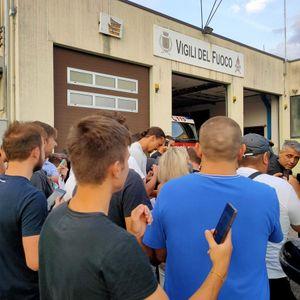 Al campetto di Fornace si presenta Zlatan Ibrahimovic