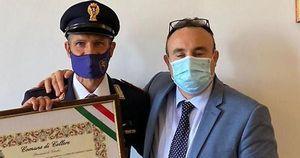 Catani, poliziotto eroe, ora è cittadino onorario