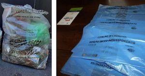 Raccolta nuova, sacchi vecchi: per la differenziata partenza soft