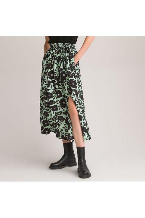 Μακριά φλοράλ φούστα