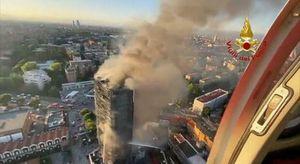 Incendio a Milano, il pm : «Non ci sono vittime, a parte un cagnolino»