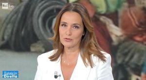 Estate in Diretta, Roberta Capua scoppia in lacrime a fine puntata: «Ho i brividi...»