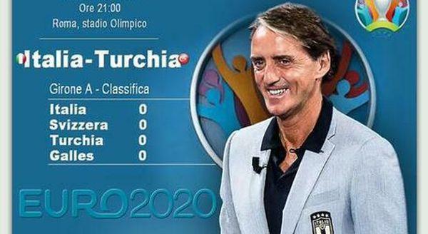Euro 2020: ecco dove vedere in tv o streaming Italia-Turchia