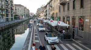 Milano, il Naviglio Pavese ad andamento lento: traffico vietato by night