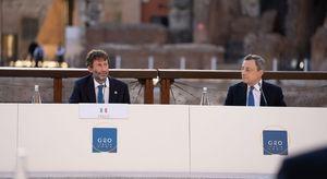 Roma ospita il G20 della Cultura nell'arena del Colosseo, la fotogallery