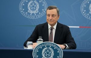 Il premier Draghi: