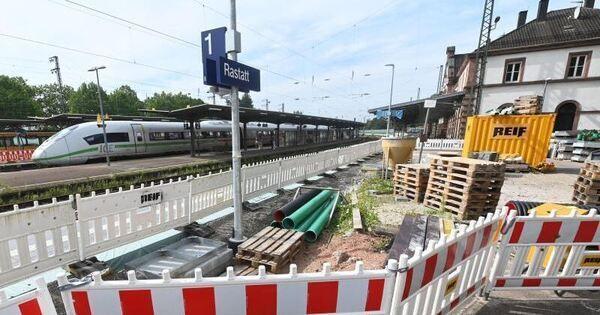 Diese Bahnbaustellen erwarten Reisende in den Ferien - Baden-Württemberg - Ludwigsburger Kreiszeitung