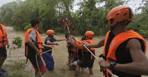 Tropensturm auf Philippinen fordert mindestens 30 Tote