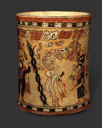 Vase with Eleven Figures