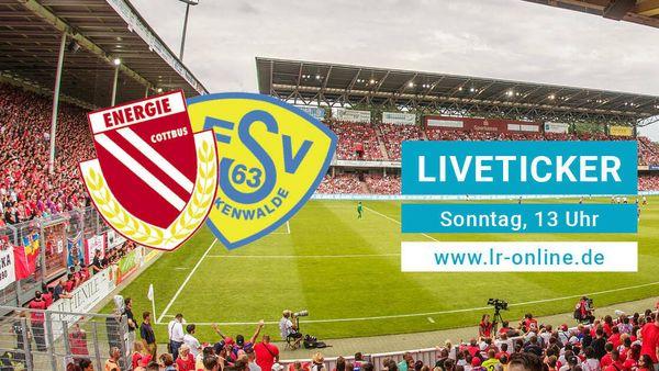 Fußball Regionalliga Nordost: Liveticker: Energie Cottbus startet gegen Luckenwalde vor großer Kulisse