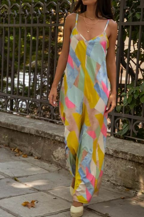 Ολόσωμη Colourfull Φόρμα - Πολύχρωμο