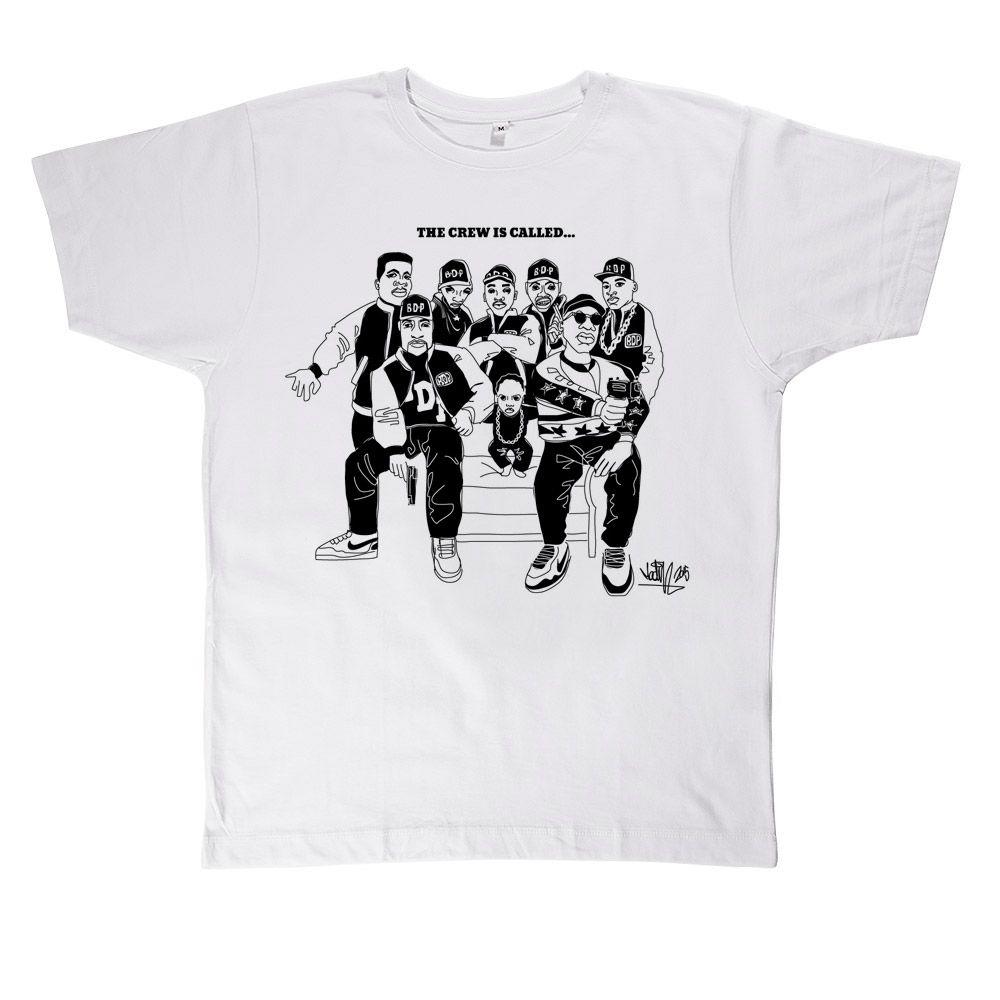 BDP T-Shirt (White) - Madina