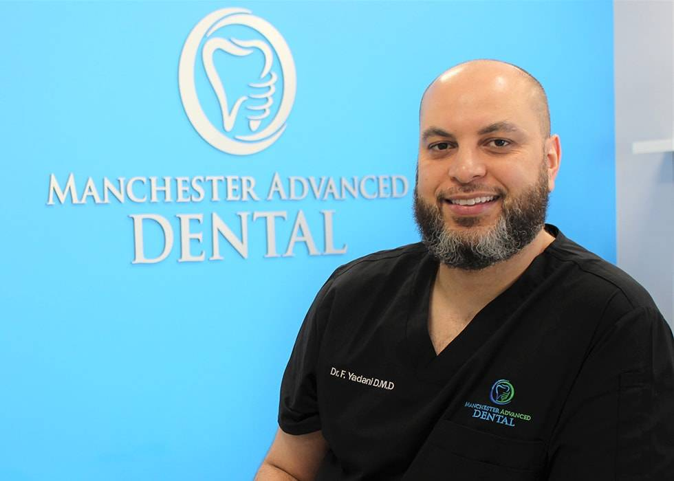 Dr. Fouad Yadani, dentist in Manchester NH, who is the owner of Manchester Advanced Dental