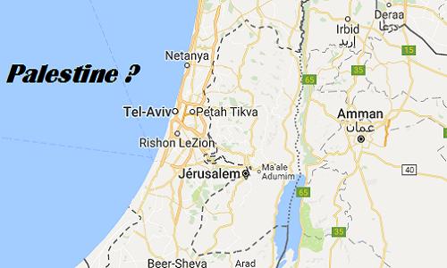 Pétition : Que Google réintégre la Palestine sur leur carte.