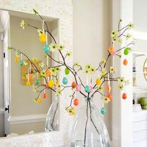Модерната украса за дома през април? Великденско дръвче
