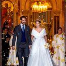 Голямата трета гръцка сватба на Нина Флор и принц Филипос