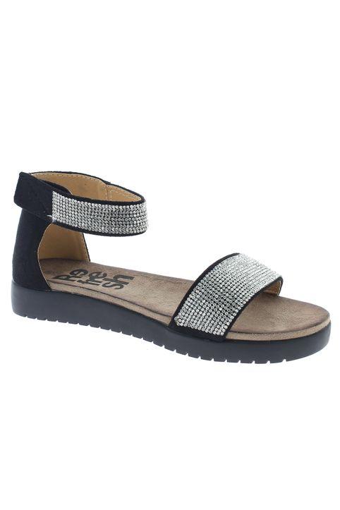 REFRESH Γυναικεία Σανδάλια 63331 Μαύρο - IqShoes - 63331 BLACK-black-41/1/15/28