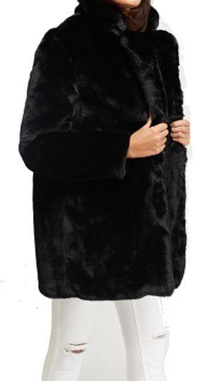 Γυναικεία γούνα Luxury εξαιρετικής ποιότητας με τσέπες - OEM - FW17SOF-420124