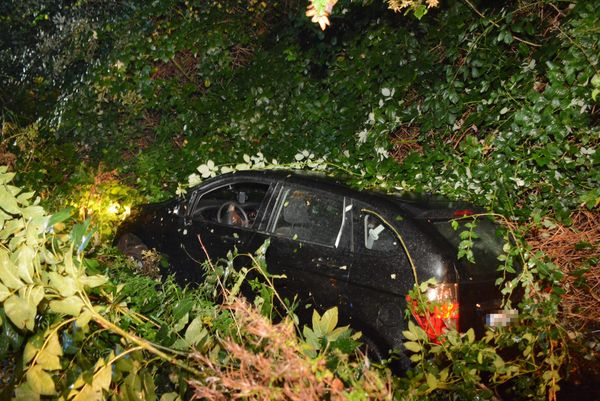 Bei Hamburg: Auto landet in Graben – Fahrer verletzt