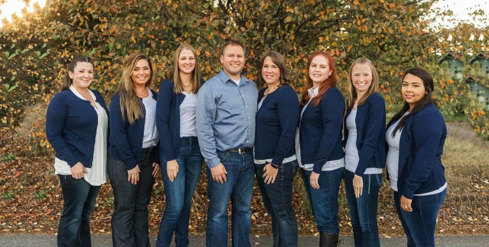 The Morgan Family Dental team in Rochester, WA