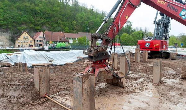 Baumaterial für neue Brücke nach Dürrmenz fehlt