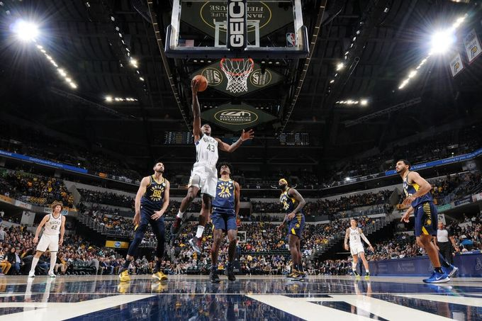 輕而易舉—Indiana Pacers & Milwaukee Bucks