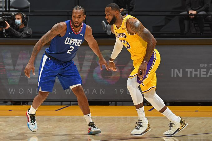 不相上下—Los Angeles Lakers & Los Angeles Clippers