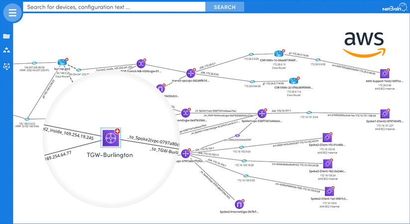 Clearly visualize your cloud and on-prem environment in one map
