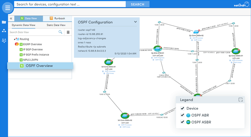 Demystify your routing protocols by visualizing them on a dynamic map
