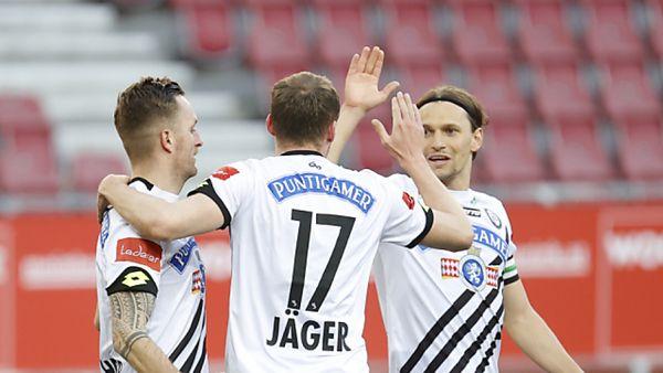 Sturm Graz verlängert mit Jantscher und Hierländer