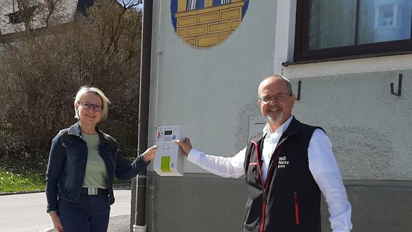Stromzählertausch in Gutenbrunn schreitet voran
