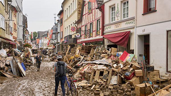 Es könne erneut Starkregen geben, sagte eine Meteorologin des Deutschen Wetterdi [...]