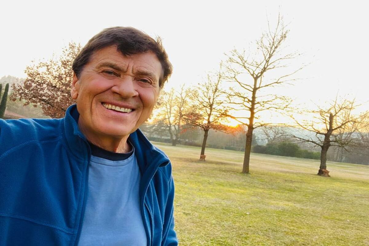 Gianni Morandi nel parco senza mascherina fan infuriati | Notizie