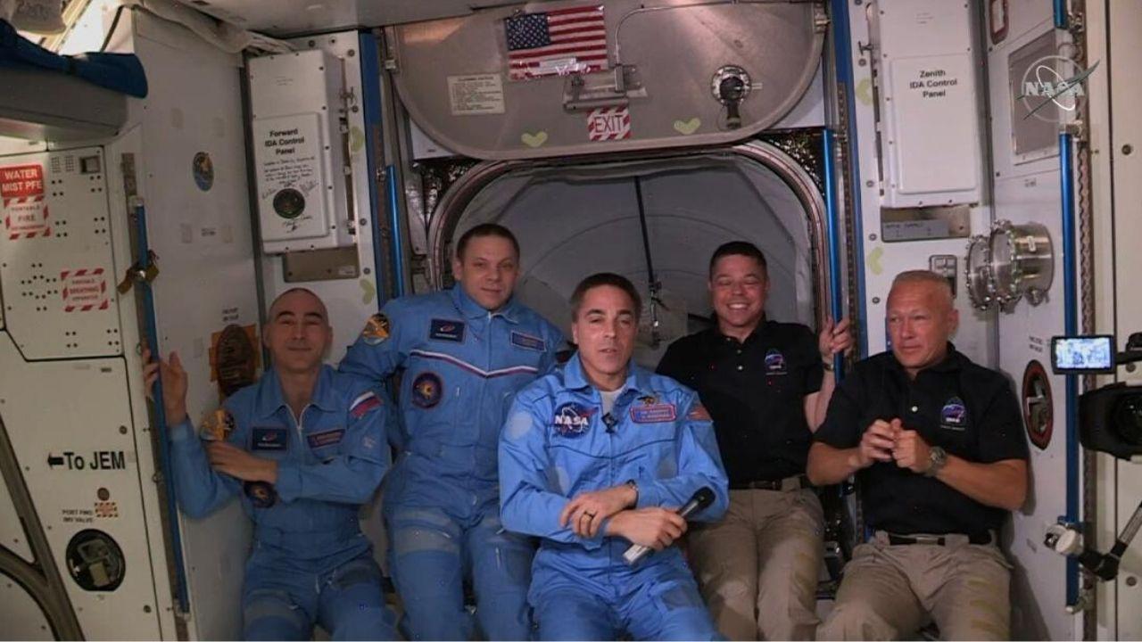 SpaceX astronauti nella Stazione Spaziale Internazionale | Notizie