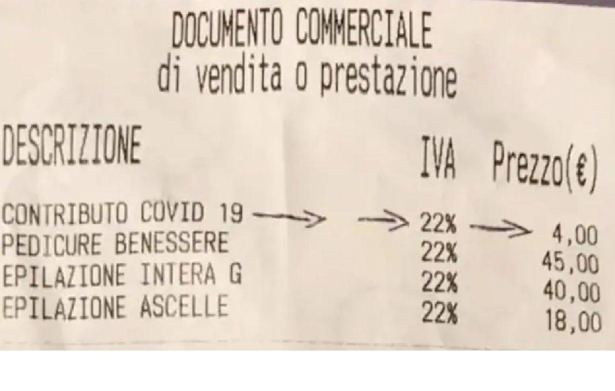 Spunta tassa Covid sugli scontrini balzello dai 2 4 euro ù
